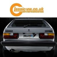 Mk1 Golf Milltek Classic Stainless Steel Exhaust System MCXVW210 Non Resonated